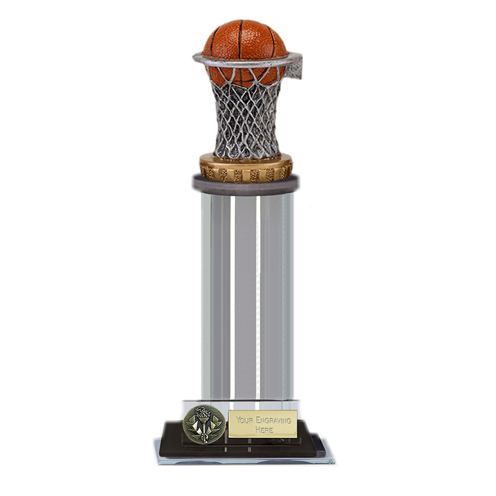 22cm Basketball Figure on Basketball Trafalgar Award