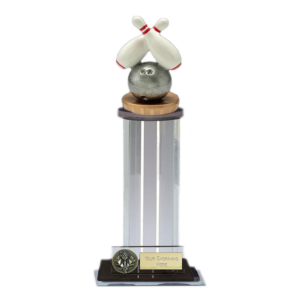 22cm Ten Pin Bowling Figure on Trafalgar Award