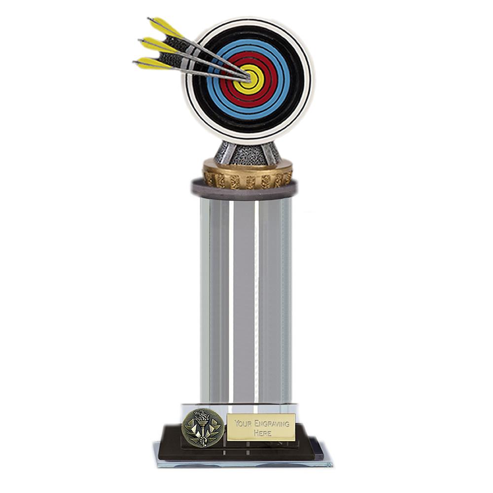 22cm Archery Figure on Archery Trafalgar Award