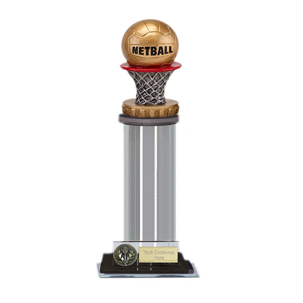 22cm Netball Figure on Netball Trafalgar Award