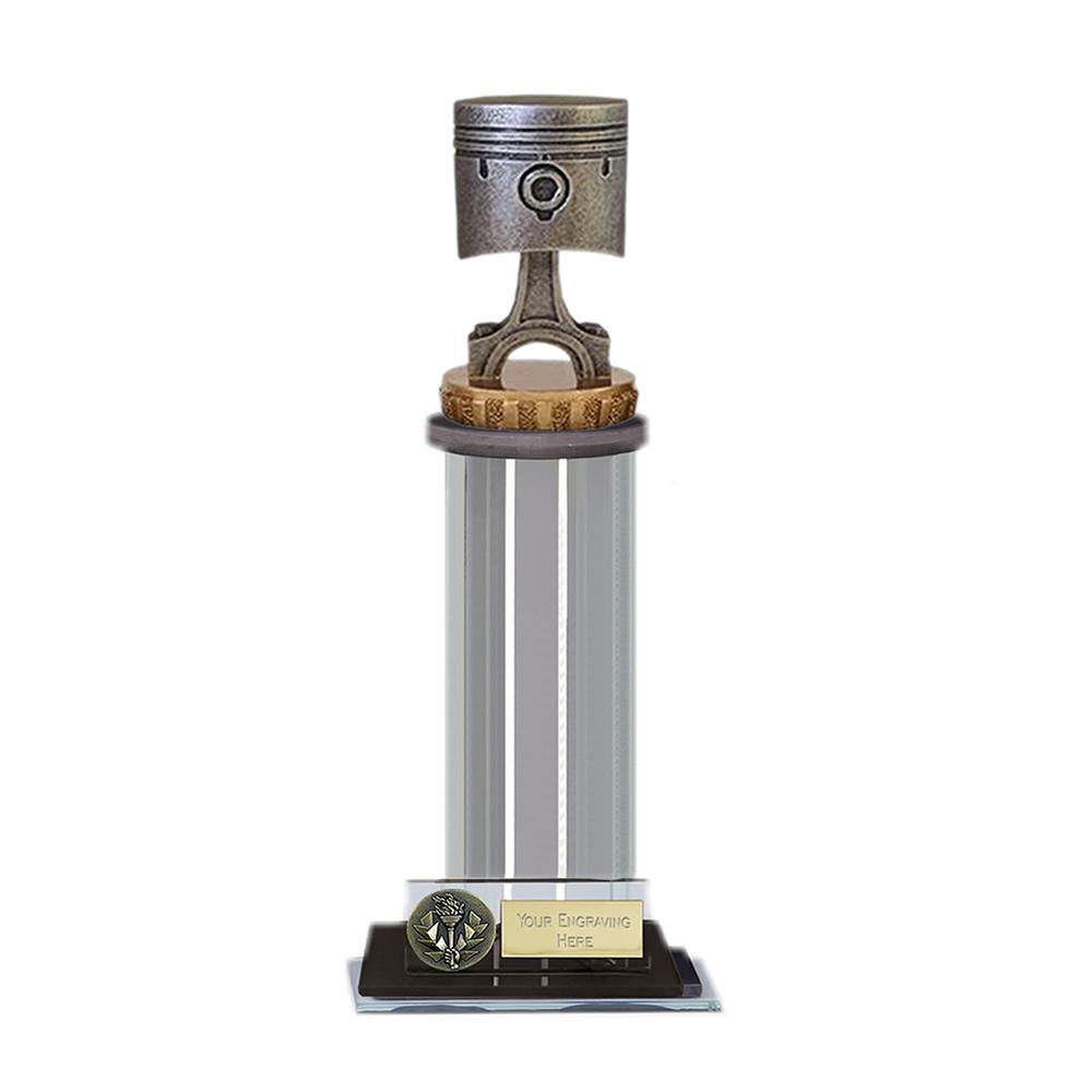 22cm Piston Figure On Motorsports Trafalgar Award