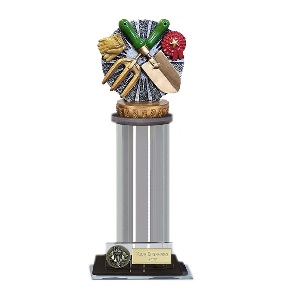 22cm Gardening Figure on Gardening Trafalgar Award