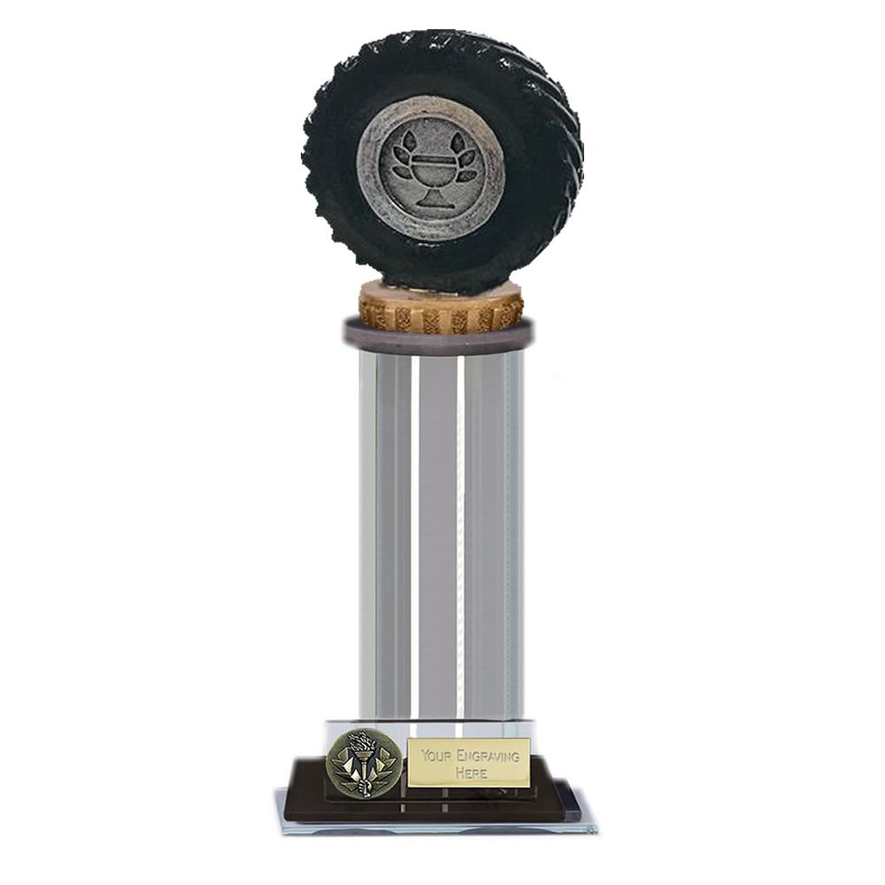 22cm Tractor Tyre Figure on Tractor Trafalgar Award