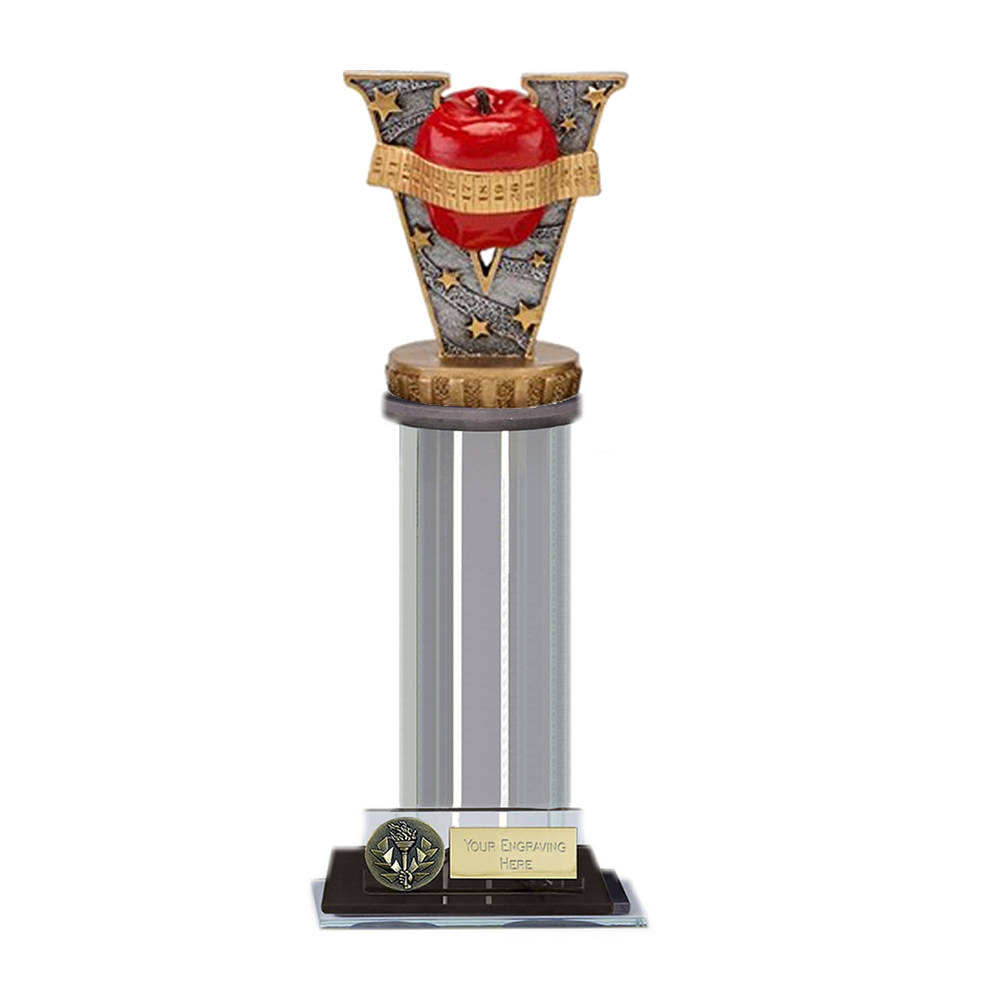 22cm Slimming Figure on Trafalgar Award