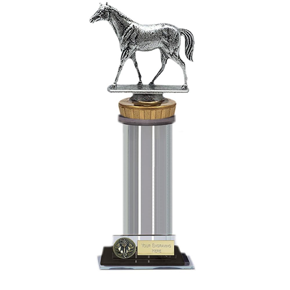 22cm Quarter Horse Figure on Horse Riding Trafalgar Award