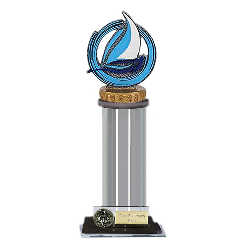 22cm Sailing Figure on Sailing Trafalgar Award