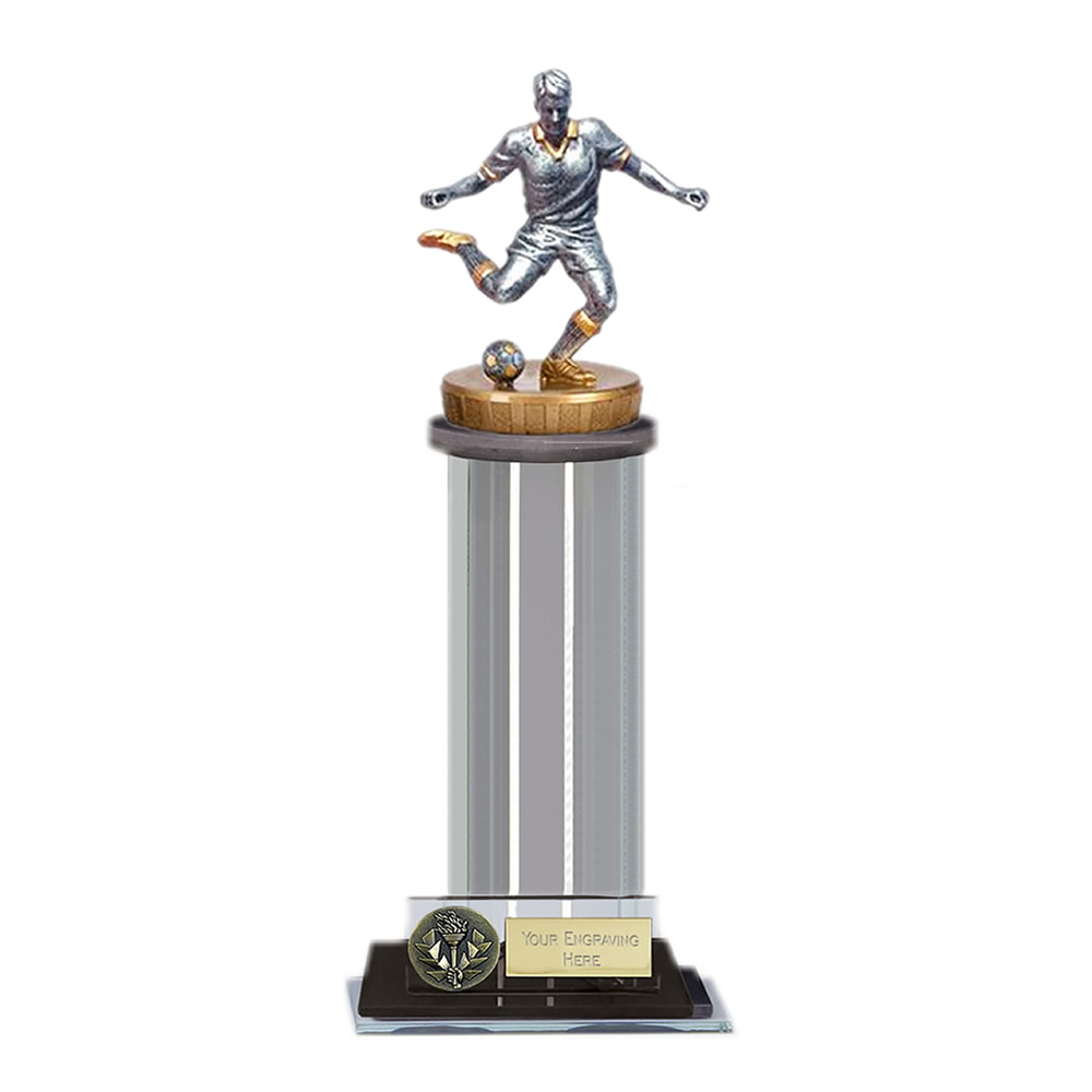 22cm Footballer Male Figure On Trafalgar Award