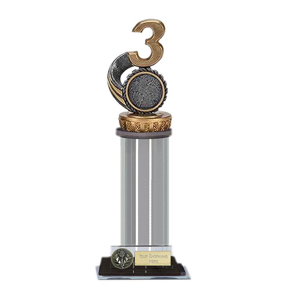 10 Inch 3rd Place Figure on Trafalgar Award