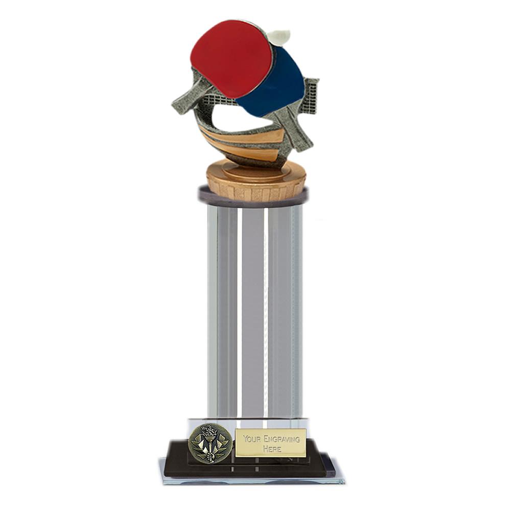 10 Inch Table Tennis Figure On Trafalgar Award