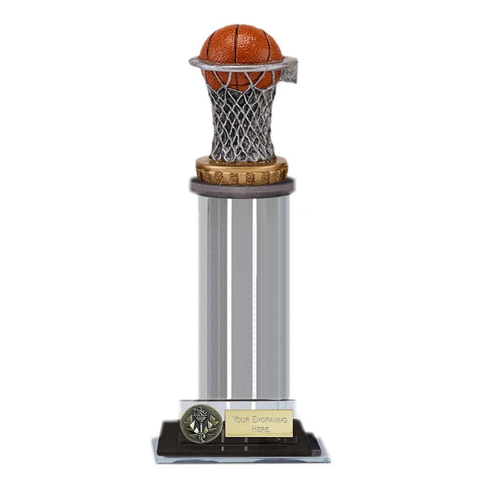 10 Inch Basketball Figure on Basketball Trafalgar Award
