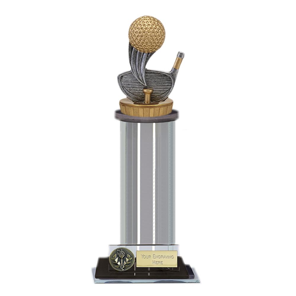 10 Inch Golf Figure on Golf Trafalgar Award