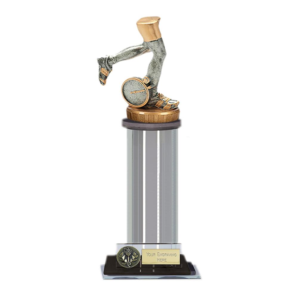 10 Inch Running Neutral Figure on Running Trafalgar Award