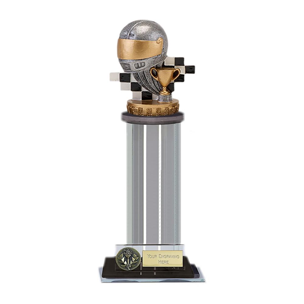 10 Inch Motorsport Neutral Figure on Motorsports Trafalgar Award