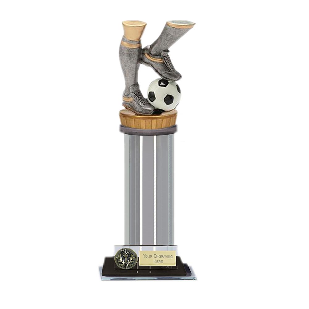 10 Inch Football Legs Figure on Football Trafalgar Award