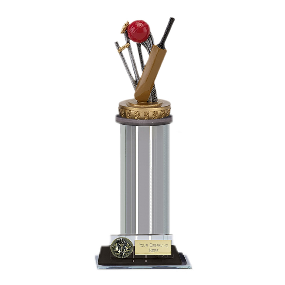 10 Inch Cricket Figure On Cricket Trafalgar Award