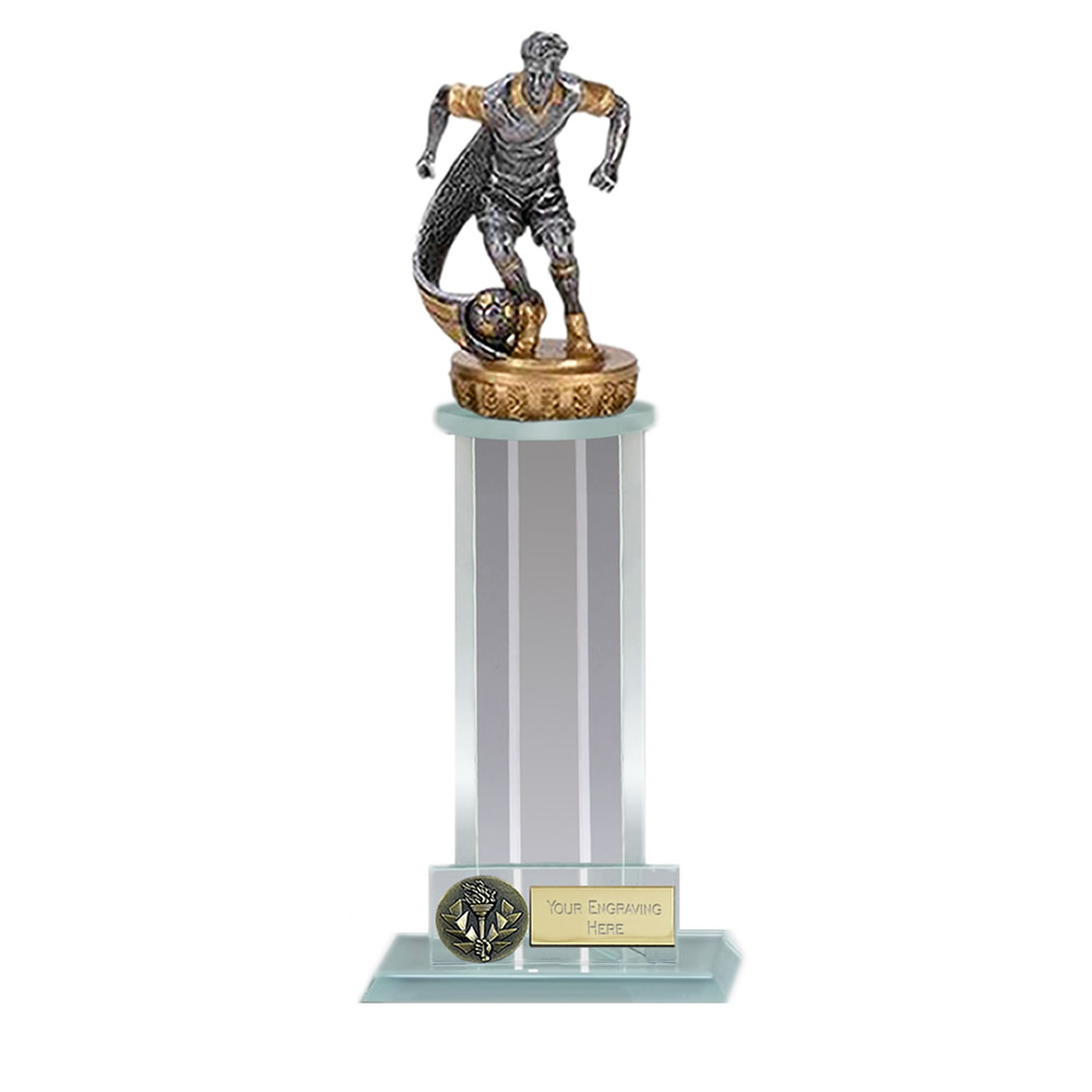 21cm Football Player Figure on Football Trafalgar Award