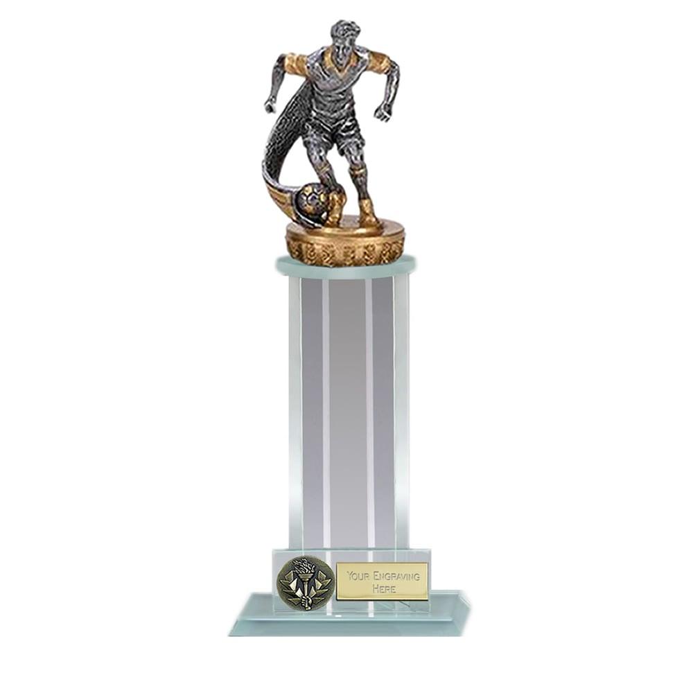 21cm Football Player Figure on Football Trafalgar Award