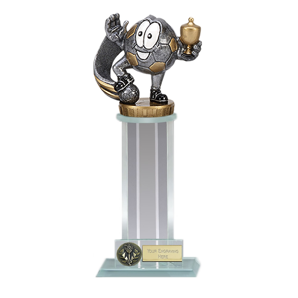21cm Football Character Figure on Football Trafalgar Award