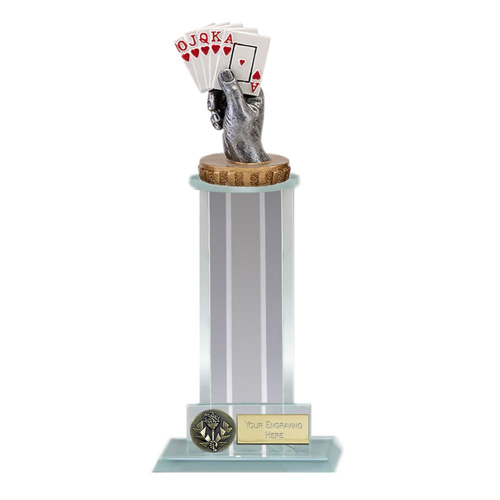 21cm Playing Cards Figure On Trafalgar Award