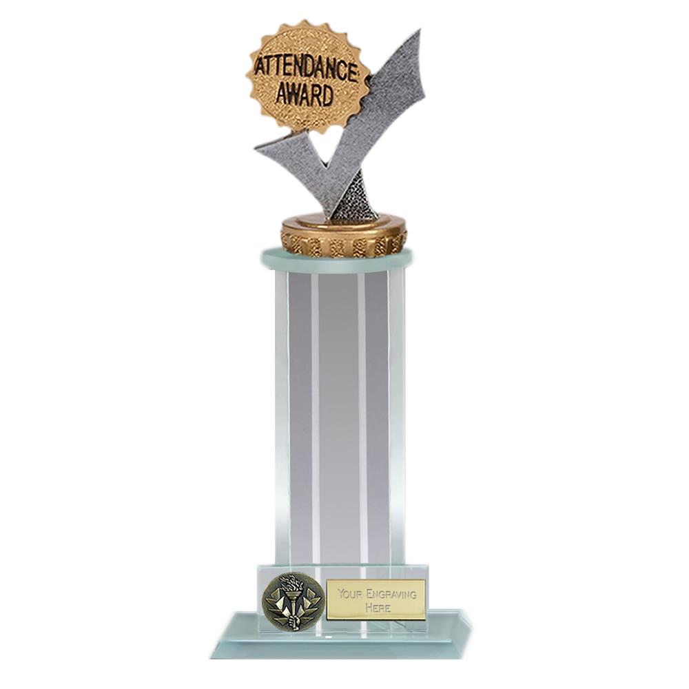 21cm Attendance Figure on School Trafalgar Award
