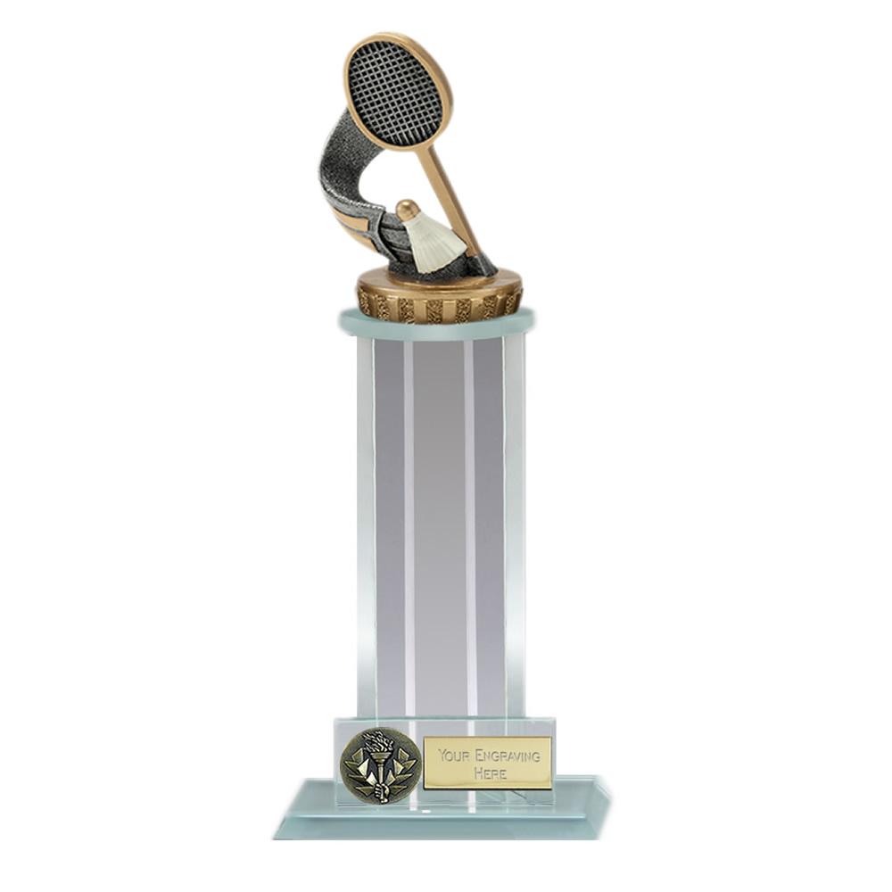 21cm Badminton Figure On Trafalgar Award