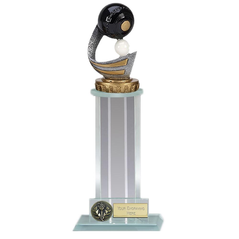 21cm Lawn Bowls Figure On Bowling Trafalgar Award