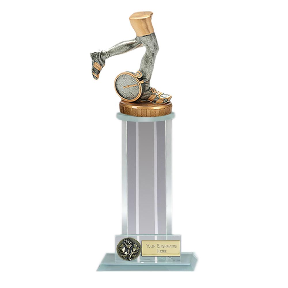 21cm Running Neutral Figure on Running Trafalgar Award