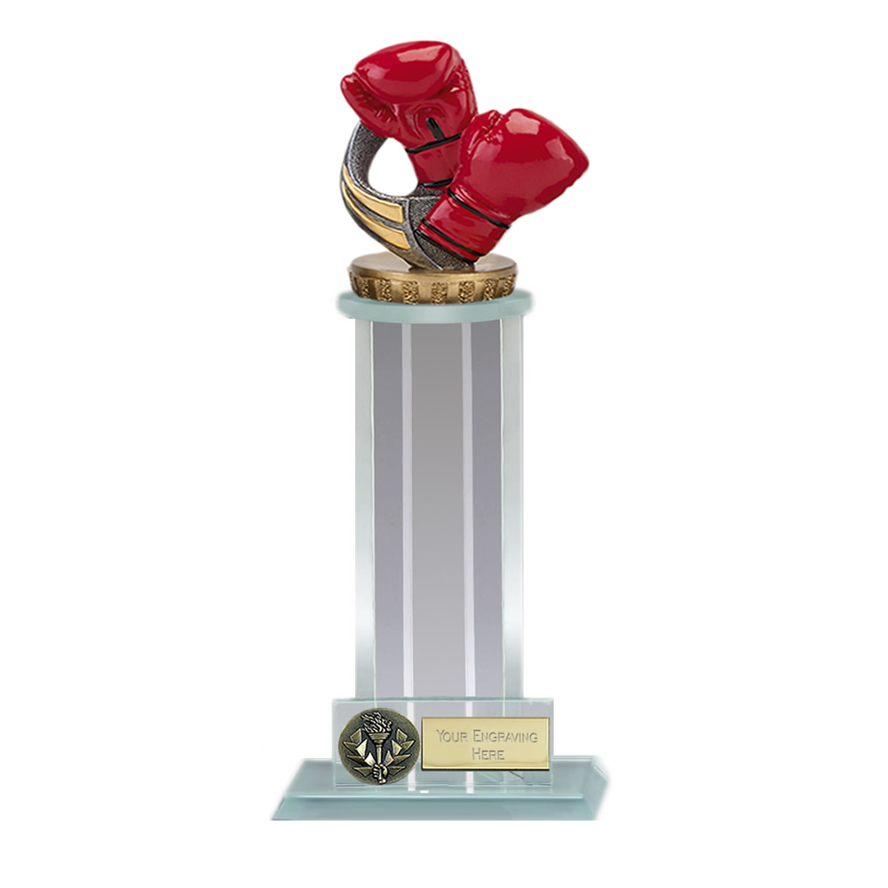 21cm Boxing Figure on Boxing Trafalgar Award