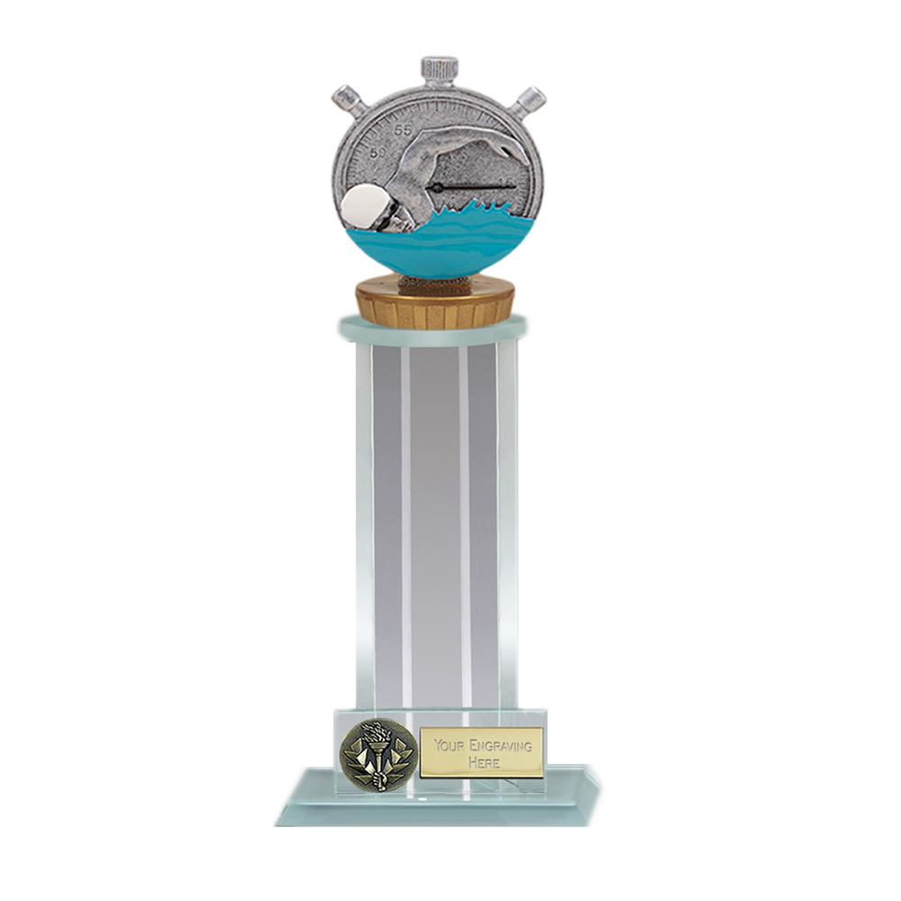 21cm Swimming Figure on Swimming Trafalgar Award