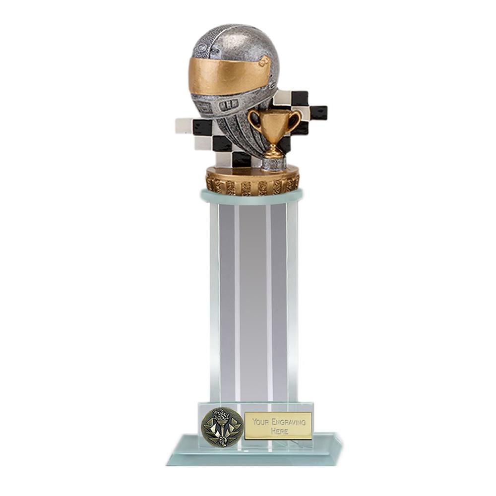 21cm Motorsport Neutral Figure on Motorsports Trafalgar Award