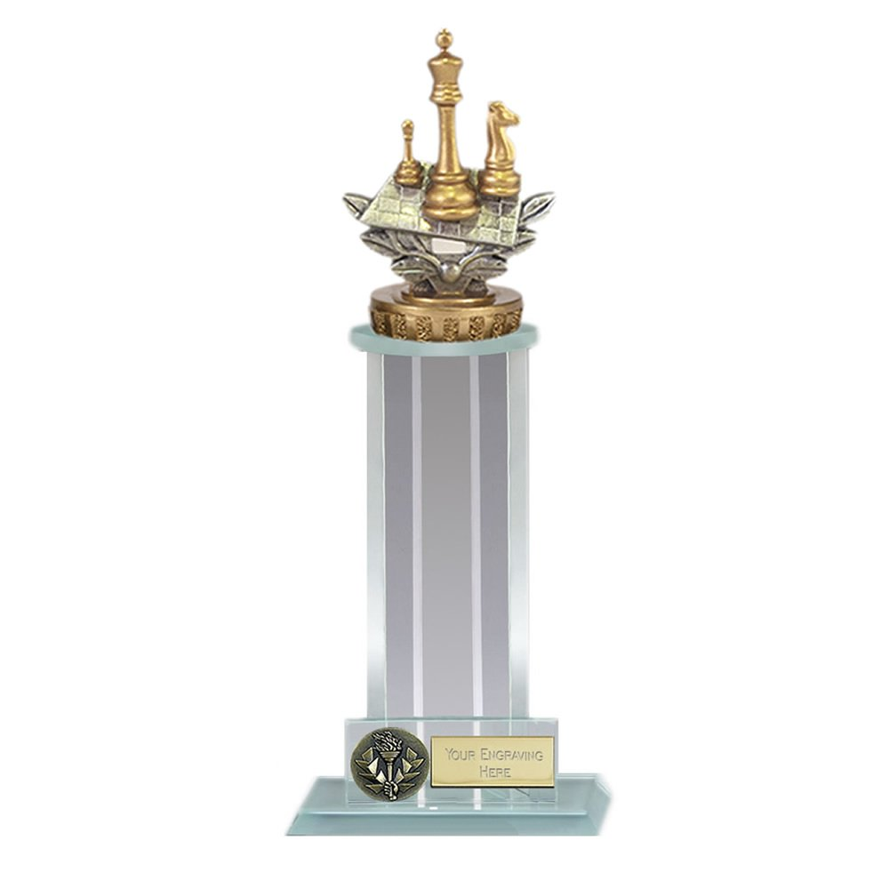 21cm Chess Figure On Trafalgar Award