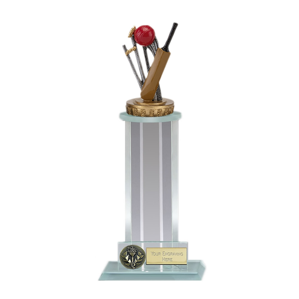 21cm Cricket Figure on Cricket Trafalgar Award