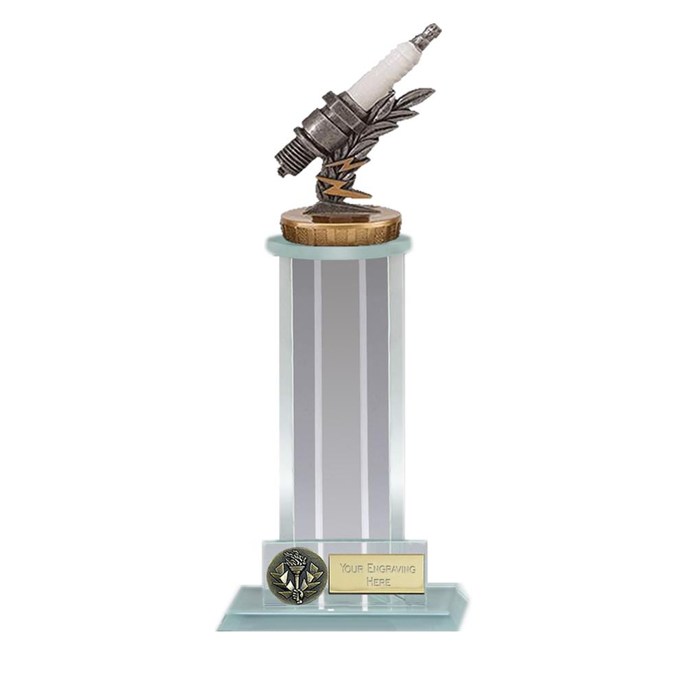 21cm Spark Plug Figure On Motorsports Trafalgar Award