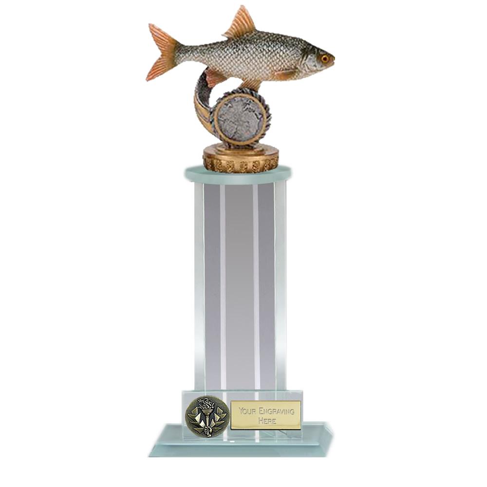 21cm Fish Roach Figure On Fishing Trafalgar Award