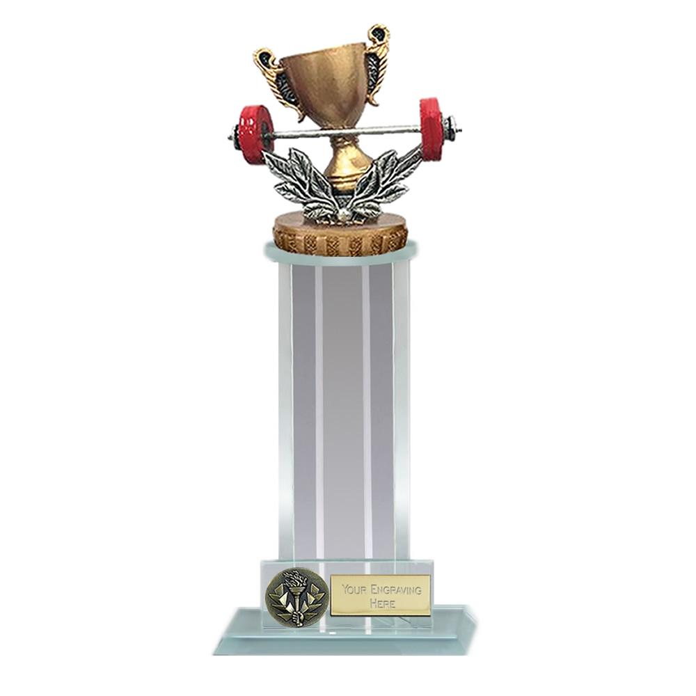 21cm Weightlifting Figure On Trafalgar Award