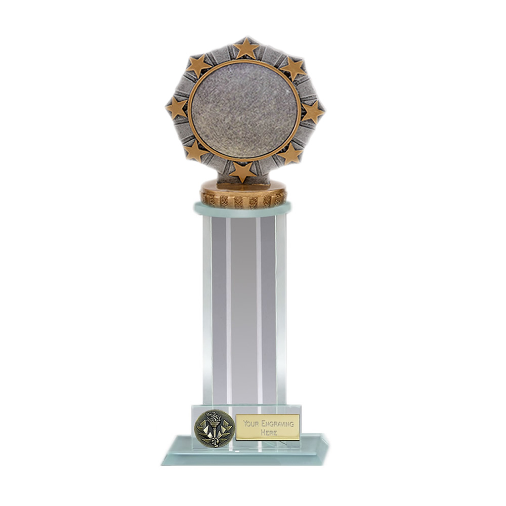 21cm Worlds Best centre Figure on Trafalgar Award