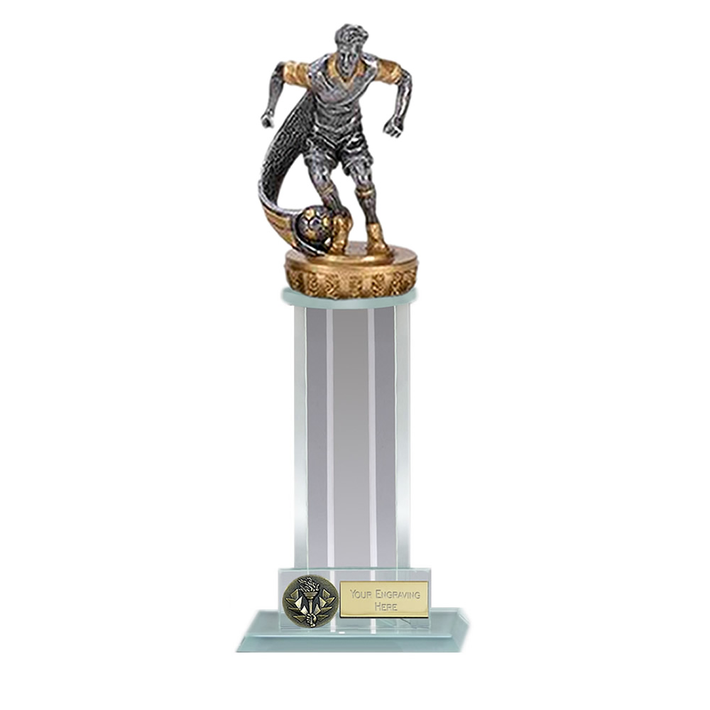 10 Inch Football Figure On Trafalgar Award
