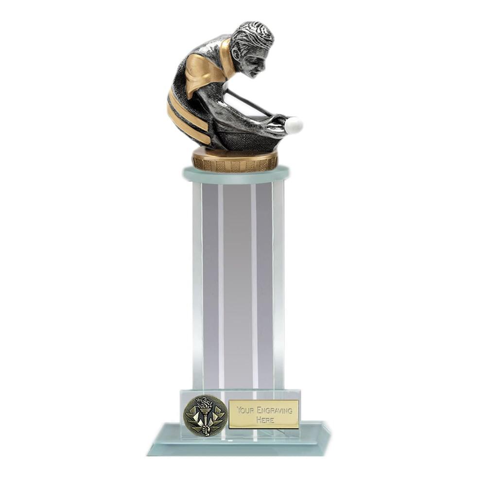 10 Inch Snooker/Pool Figure on Snooker & Pool Trafalgar Award