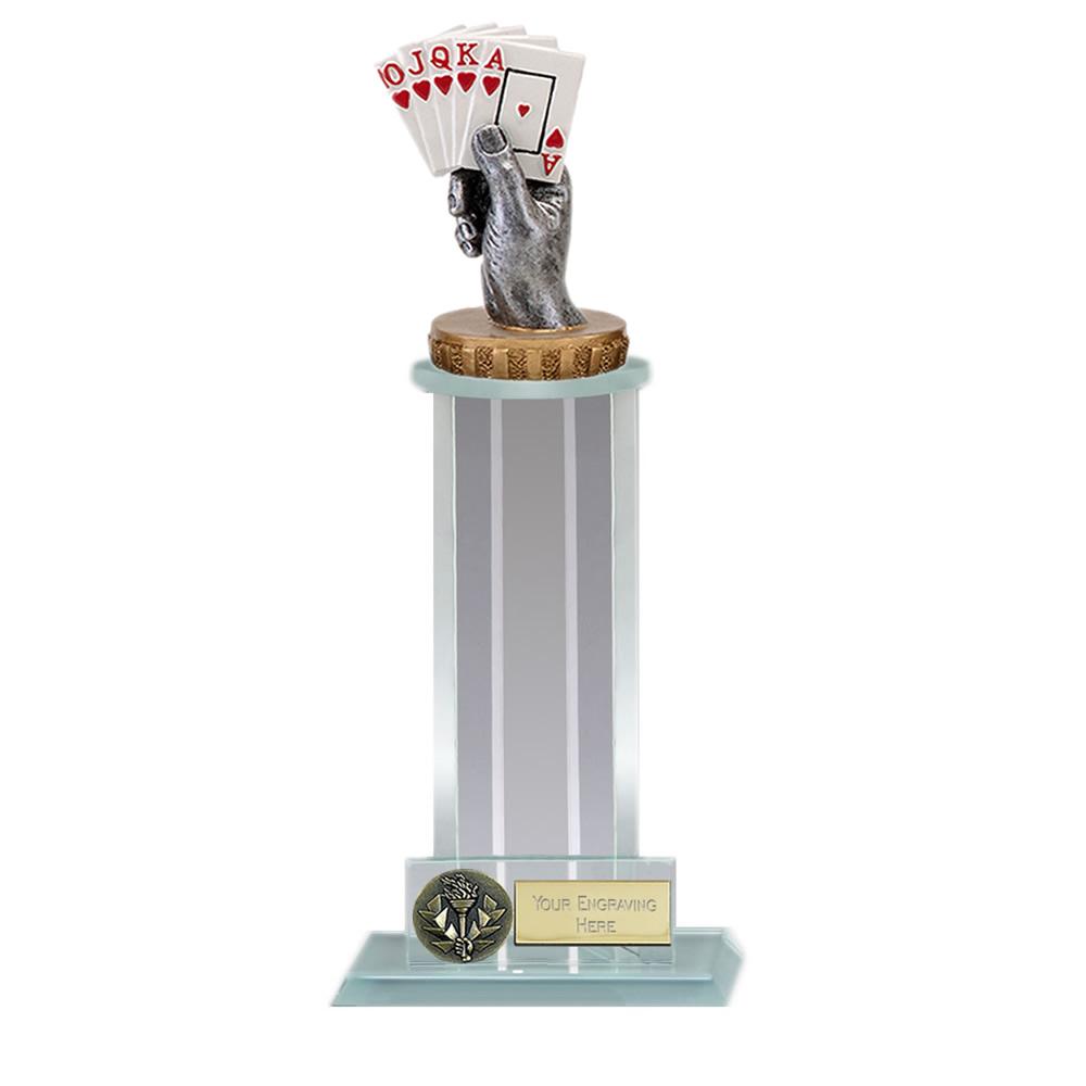 10 Inch Playing Cards Figure On Trafalgar Award