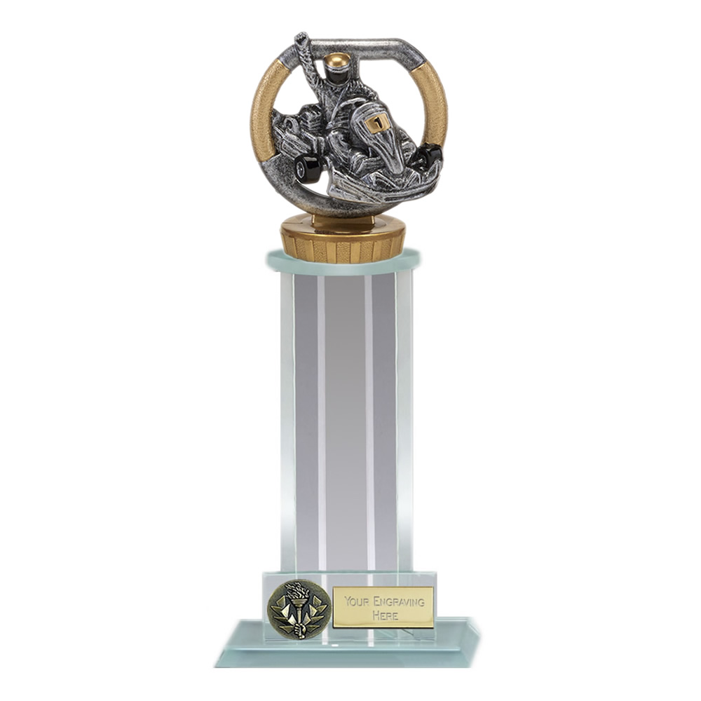 10 Inch Go-Kart Figure on Motorsports Trafalgar Award