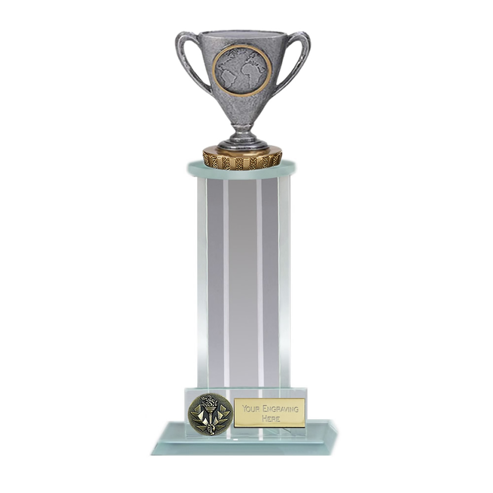 10 Inch Cup with Centre Figure on Trafalgar Award