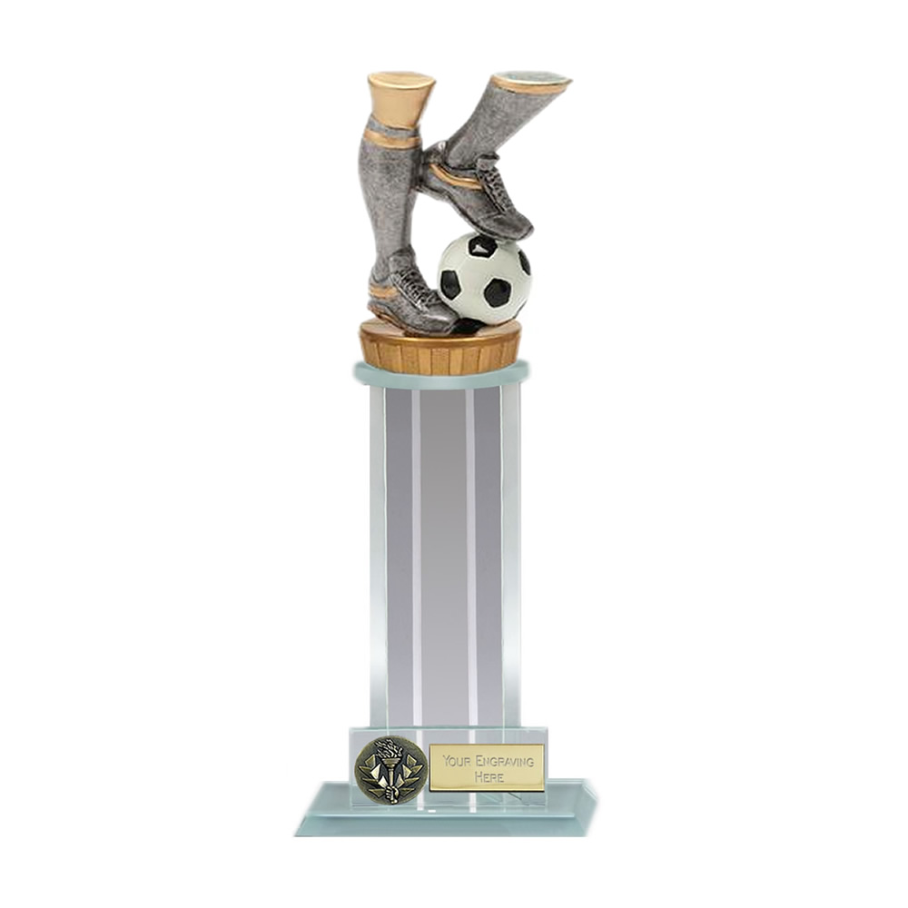 10 Inch Football Legs Figure on Football Trafalgar Award