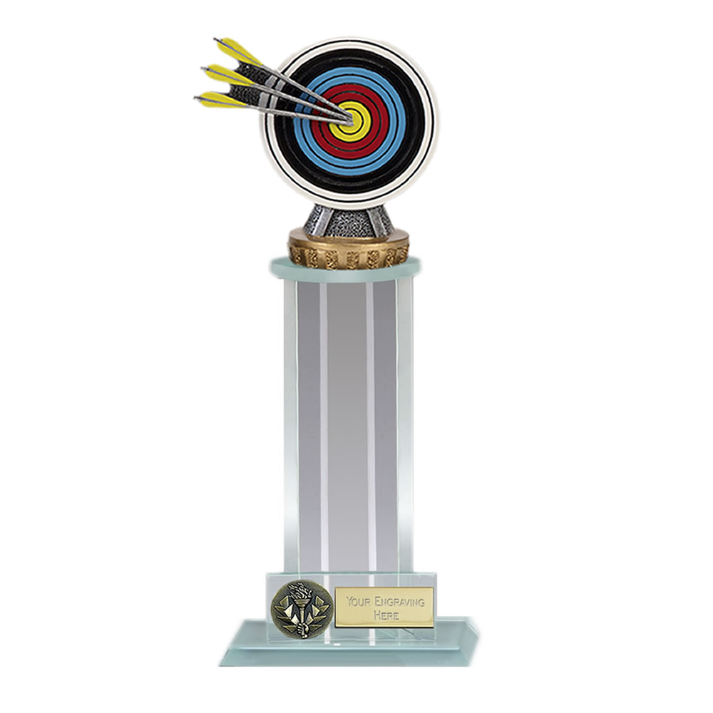 10 Inch Archery Figure on Archery Trafalgar Award