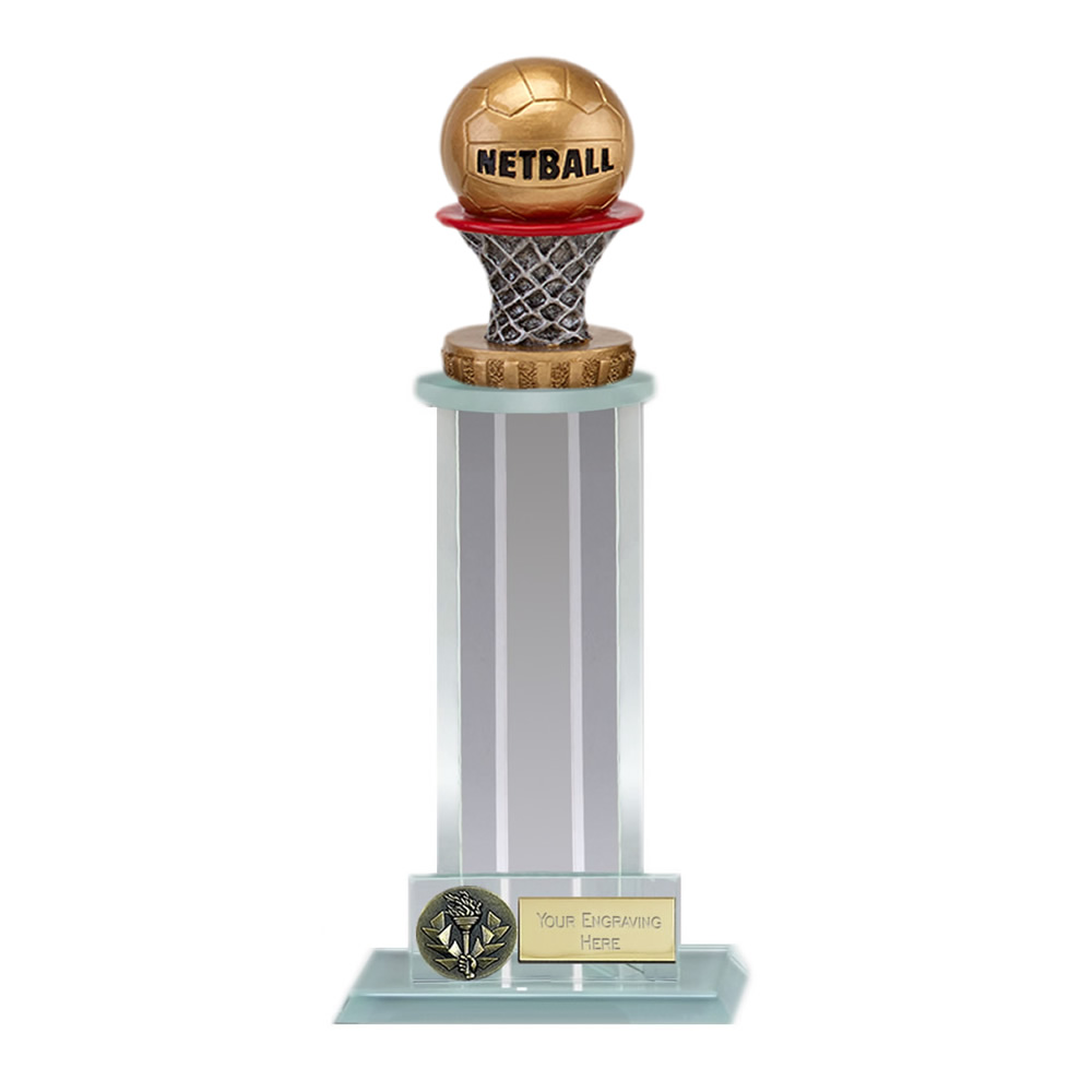 10 Inch Netball Figure on Netball Trafalgar Award