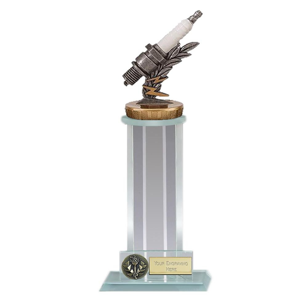 10 Inch Spark Plug Figure On Motorsports Trafalgar Award