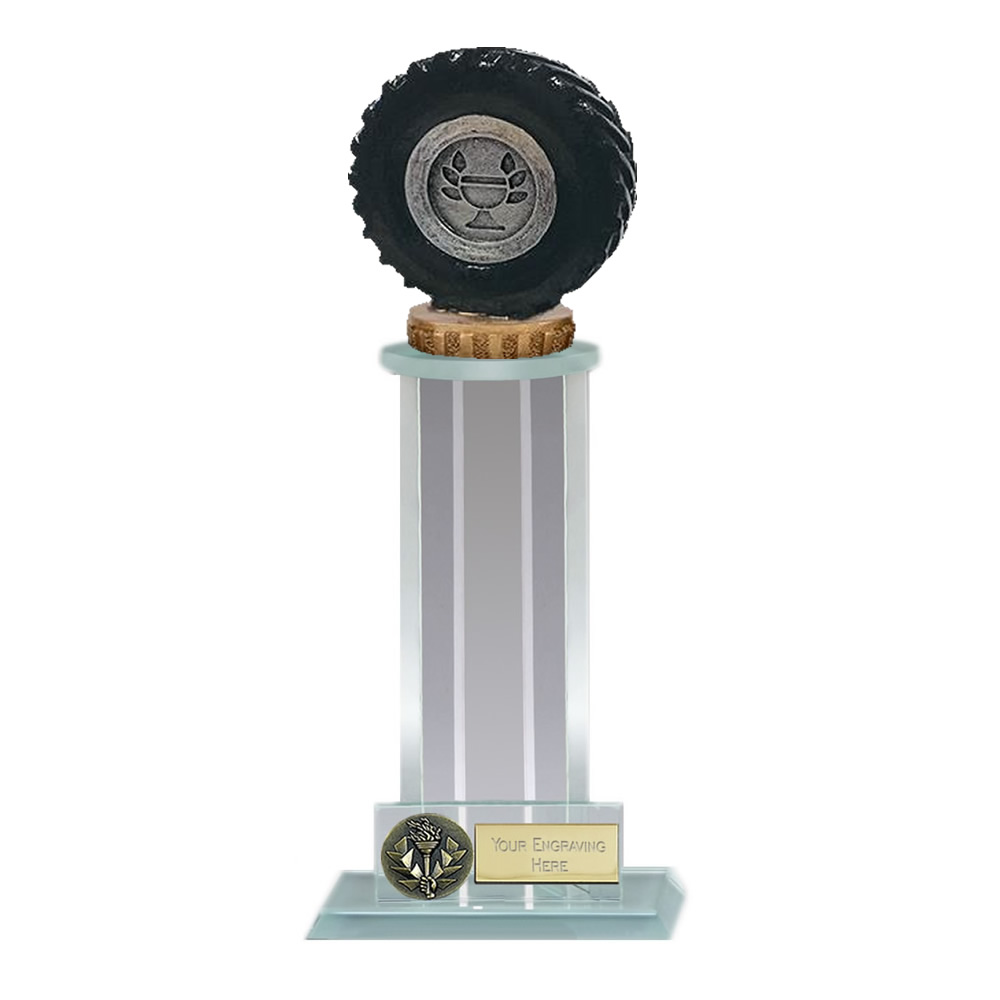 10 Inch Tractor Tyre Figure On Trafalgar Award