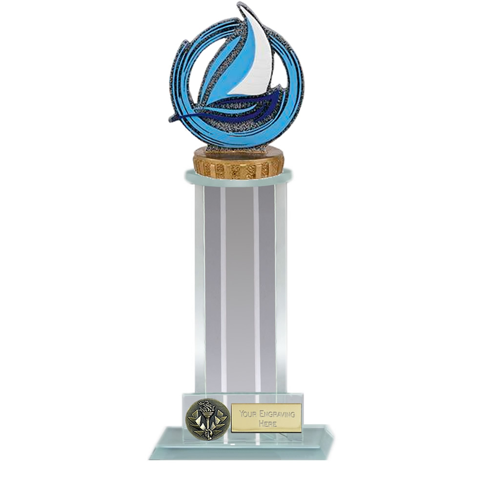 10 Inch Sailing Figure on Sailing Trafalgar Award