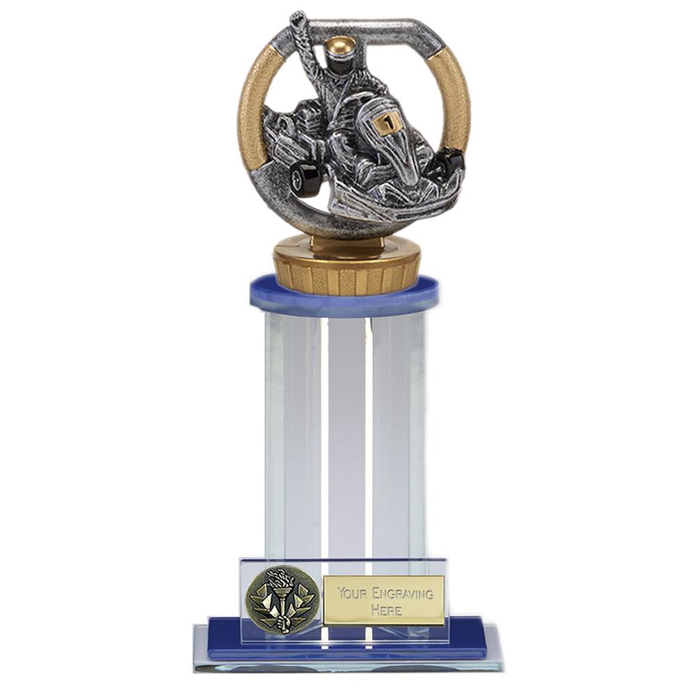 21cm Go-Kart Figure On Motorsports Trafalgar Award
