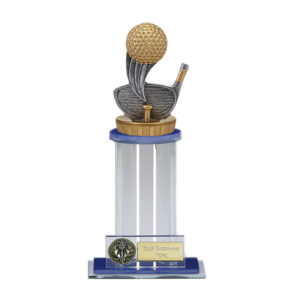 21cm Golf Figure On Golf Trafalgar Award