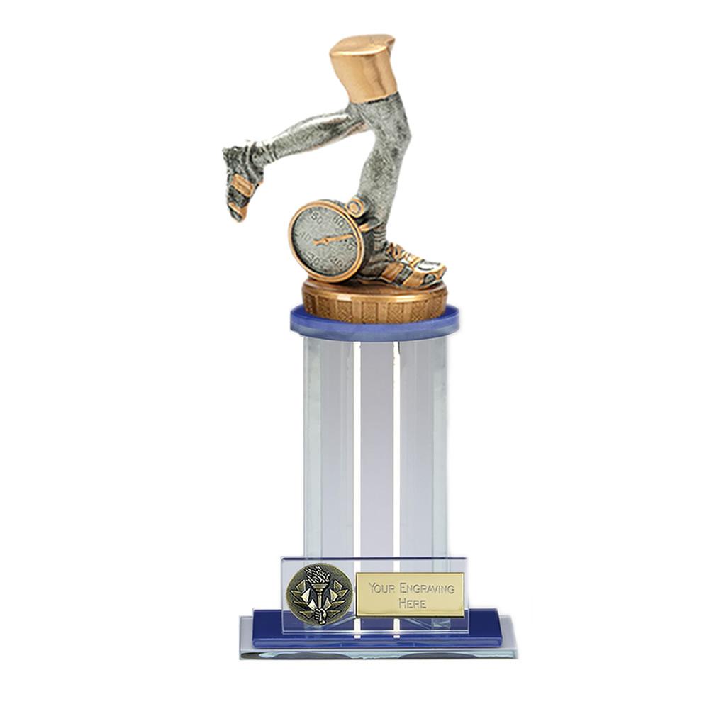 21cm Running Neutral Figure On Trafalgar Award